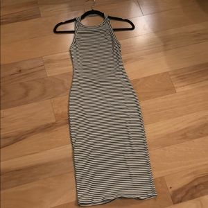 Urban Outfitters Striped Open Back Dress